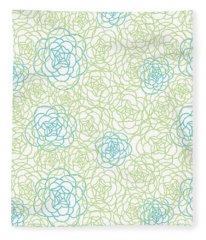 Floral Fleece Blankets