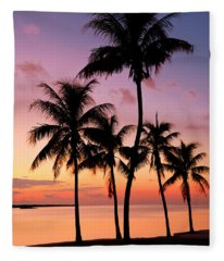 Florida Breeze Fleece Blanket