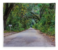 Florida Road Fleece Blanket