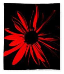 Flower 2 Fleece Blanket