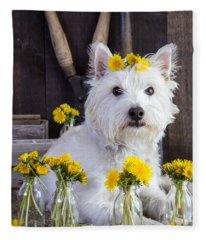 Flower Child Fleece Blanket