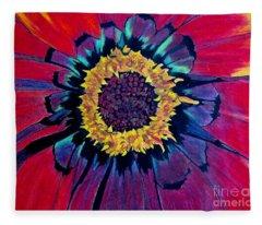Flowerburst Fleece Blanket