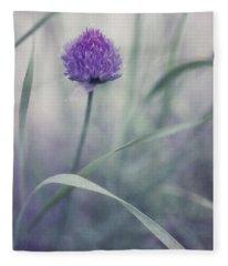Chive Photographs Fleece Blankets
