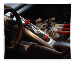 Flux Capacitor Fleece Blanket
