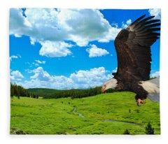 Fly By Fleece Blanket