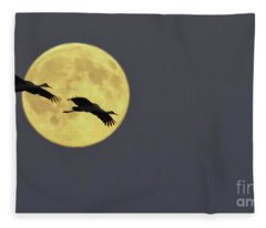Moonlight Flight Fleece Blanket