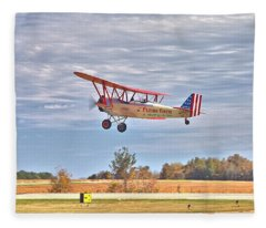 Flying Circus Barnstormers Fleece Blanket