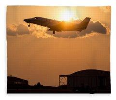 Flying Home Fleece Blanket