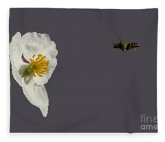 Flying In For Breakfast Fleece Blanket