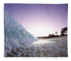 Foam Wall Fleece Blanket