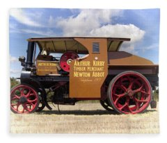 Foden Tractor Fleece Blanket