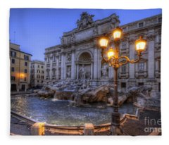 Fontana Di Trevi 3.0 Fleece Blanket