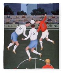 Football Fleece Blanket