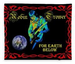For Earth Below #1 Fleece Blanket