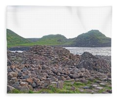 For The Cause -- Giant's Causeway -- Ireland Fleece Blanket