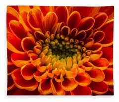 The Heart Of A Mum Fleece Blanket