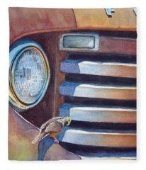 Ford And Wren Fleece Blanket