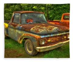1962 Ford Pickup Truck F Series Fourth Generation  Fleece Blanket