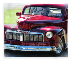Ford Mercury Eight Fleece Blanket