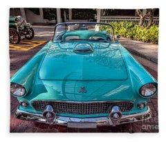 Ford Thunderbird  Fleece Blanket