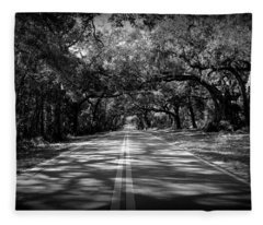Fort Dade Ave Fleece Blanket