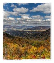 Fort Mountain Fleece Blanket