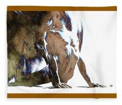 Fount IIi - Textured Fleece Blanket