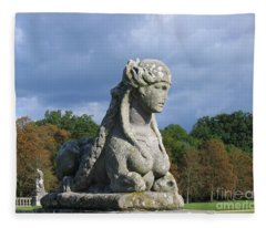 Fountainebleau Twin2 Fleece Blanket