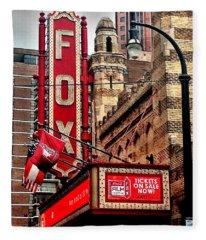 Fox Theater - Atlanta Fleece Blanket
