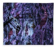 Fractal121413 Fleece Blanket