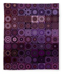 Fractascope Kaleidestry 10x10 Fleece Blanket