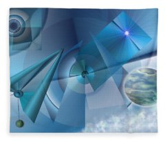 Interdimensional Fleece Blanket