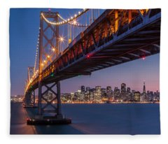 Framing San Francisco Fleece Blanket
