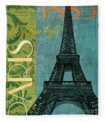Francaise 1 Fleece Blanket