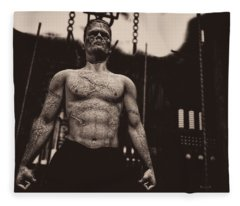 Frankenstein's Science Fleece Blanket