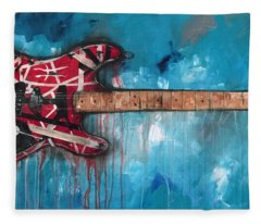 Frankenstrat Fleece Blanket