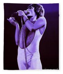 Freddie Mercury Of Queen Fleece Blanket