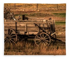 Freight Wagon Fleece Blanket