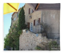 French Riviera - Ramatuelle Fleece Blanket