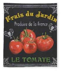 French Vegetables 1 Fleece Blanket