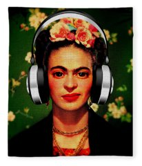Frida Jams Fleece Blanket