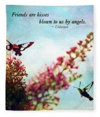 Friends Are .....  Fleece Blanket