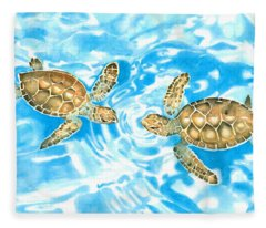 Friends Baby Sea Turtles Fleece Blanket
