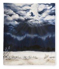 From The Midnight Sky Fleece Blanket