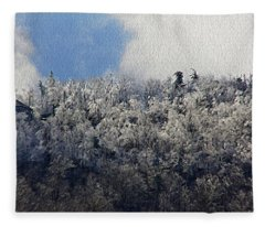 Frost Line Fleece Blanket