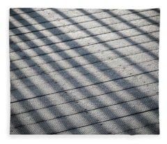 Fleece Blanket featuring the photograph Frosty Irish Morning by James Truett