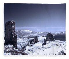 Frozen Landscape Fleece Blanket