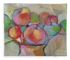 Fruit Bowl #5 Fleece Blanket