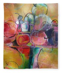 Fruit Bowl No.1 Fleece Blanket