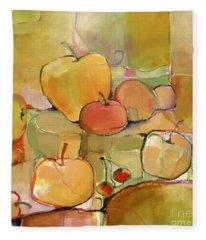 Fruit Still Life Fleece Blanket
